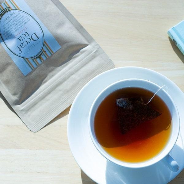 辻本珈琲 カフェインレス 紅茶 ティーバッグ デカフェ セイロ 2.5g×30杯分