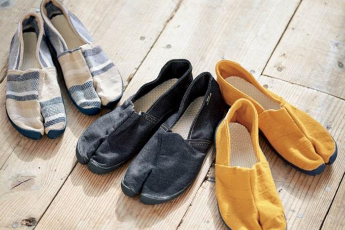 まるで裸足のような心地よさ!ハマる人続出の「足袋スニーカー」の魅力とは