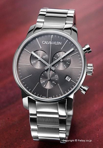 カルバンクライン Calvin Klein 腕時計 メンズ Ck City Chronograph K2G27143