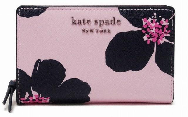 「ケイトスペード KateSpade 財布 サフィアーノ レザー ピンク」