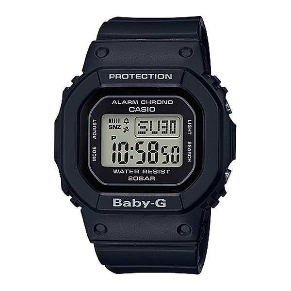 CASIO BABY-G クオーツ レディース 腕時計 BGD-560-1 ブラック