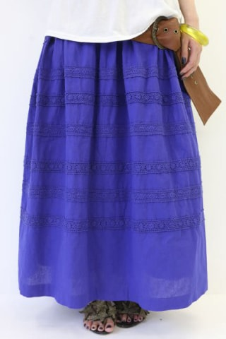 ロングスカート レディースファッション